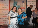 Jeanette DePate (aka The Fat Chick) and me at the LA Premiere of America the Beautiful - the Thin Commandments