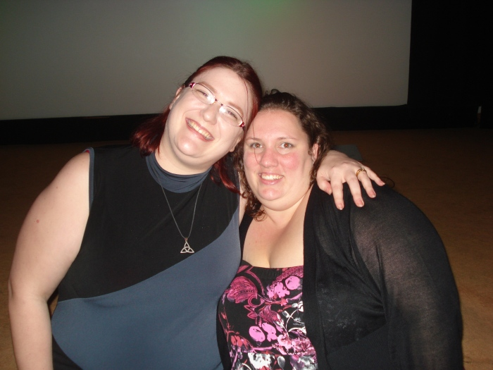 Got to meet my blog wife at a Houston screening of America the Beautiful 2- The Thin Commandments