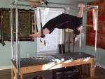Hanging pull ups courtesy of the amazing Kate Catlow of The Mindful Body Center in Austin, Texas.