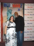 With Darryl Roberts at the NYC premiere of America the Beautiful 2 - The Thin Commandments