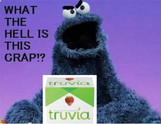 Cookie Monster Truvia