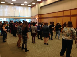my dance class at High School Day at the Central Pennsylvania GSA Leadership Summit