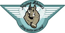 flying rhinos