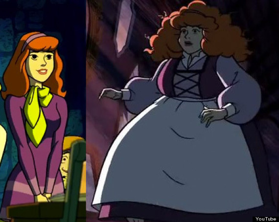 August 2014 dances with fat - Scooby doo daphne ...