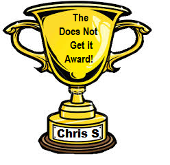 Does not Get it award
