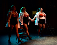 Dance is for EVERY BODY.  More Cabaret takes our final bow at the Burlypicks competition.