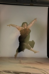 Ragen Chastain - fat dancer, no fat suit needed.  Photo by Richard Sabel