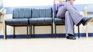 Doctor's waiting room corrected