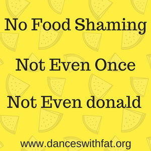No Food Shaming