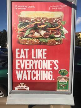 Eat Like Everyone Is Watching