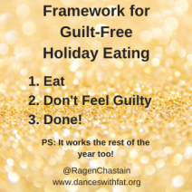 Guilt free holiday eating
