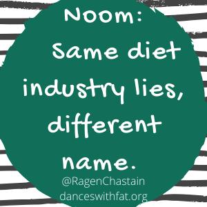 Noom same diet industry lies new name