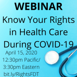 Webinar Know Your Rights