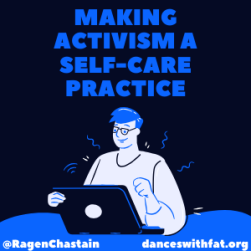 Making activism a self-care practice